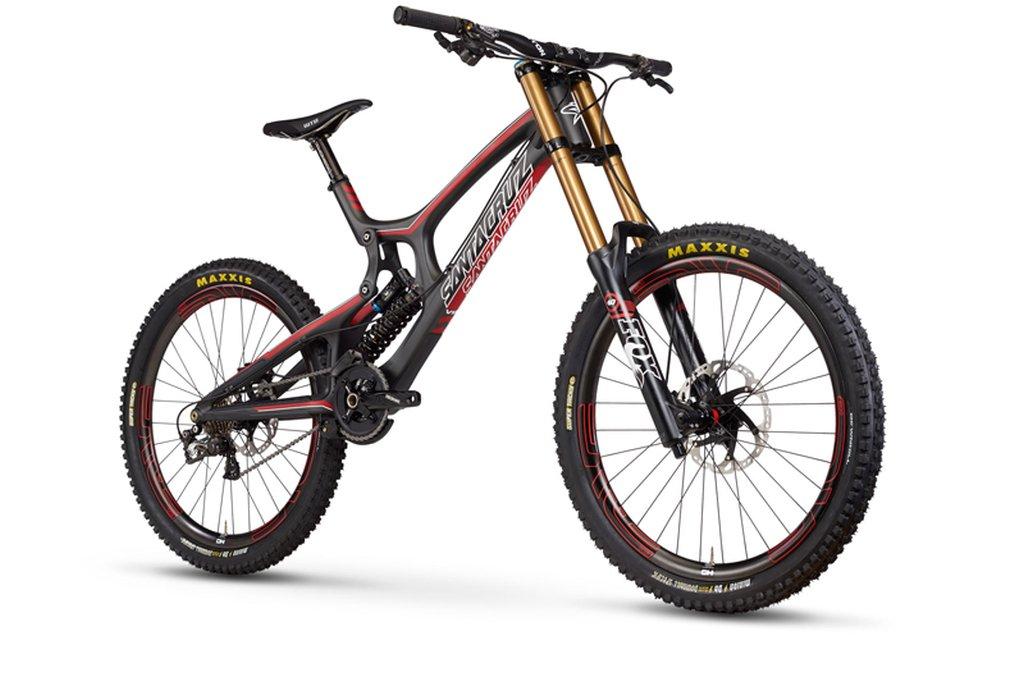 Santa Cruz presenta la V10c, su nueva bici de Descenso con cuadro de ...